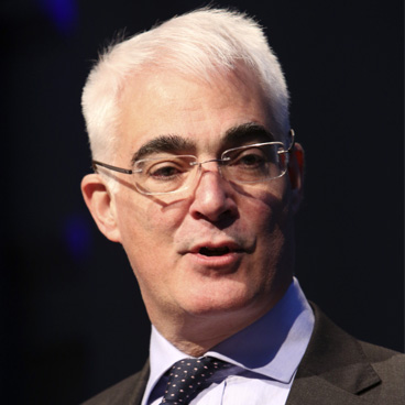 Lord Alistair Darling, Former MP and Former Chancellor of the Exchequer